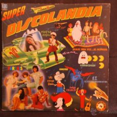 Discos de vinilo: SUPER DISCOLANDIA - 25 EXITOS - DOBLE LP - BELTER - 1983. Lote 42869565