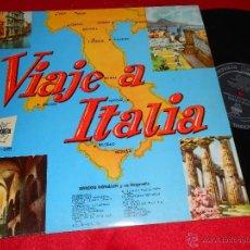 Discos de vinilo: ENRICO DONALDI ORQUESTA VIAJE A ITALIA LP 195? CID EDICION ESPAÑOLA SPAIN. Lote 42872739