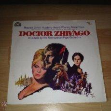 Discos de vinilo: DOCTOR ZHIVAGO LP BSO, BANDA SONORA. Lote 42882625