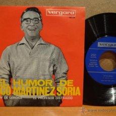 Discos de vinilo: PACO MARTÍNEZ SORIA. SOY DE GERONA. SINGLE / VERGARA - 1964. MUY BUENA CALIDAD. ***/***. Lote 42883711