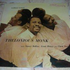Discos de vinilo: THELONIOUS MONK - BRILLIANT CORNERS - LP. Lote 42884082