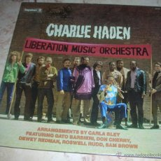Discos de vinilo: CHARLIE HADEN - LIBERATION MUSIC ORCHESTRA - LP REEDICION 2009. Lote 42884091