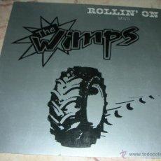 Discos de vinilo: THE WIMPS - ROLLIN ON - LP EDICION ALEMANA. Lote 42886090