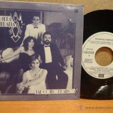 Discos de vinilo: PEQUEÑA COMPAÑÍA. TAL COMO ÉRAMOS. SINGLE-PROMO / EMI - 1986. CALIDAD LUJO. ****/****. Lote 42886256
