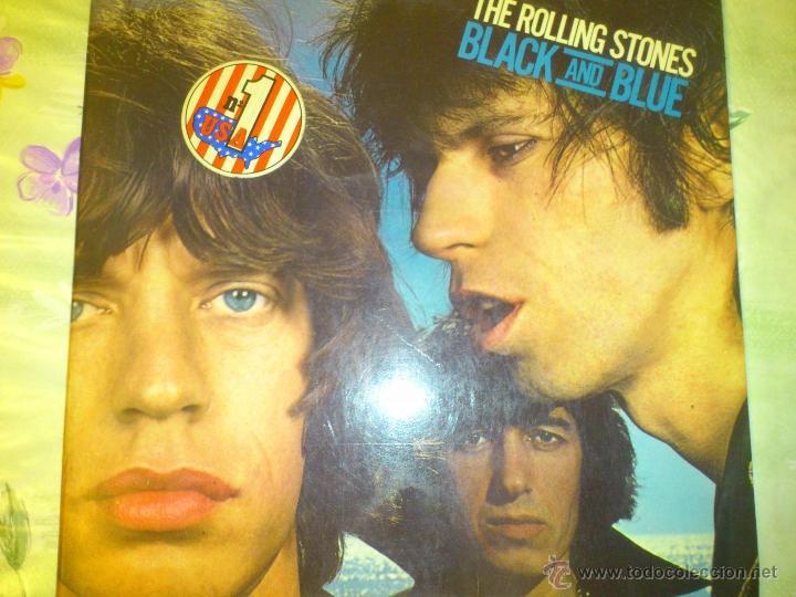 THE ROLLING STONES BLACK AND BLUE 1976 PERFECTO VINILO (Música - Discos - Singles Vinilo - Pop - Rock - Extranjero de los 70)