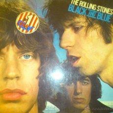 Discos de vinilo: THE ROLLING STONES BLACK AND BLUE 1976 PERFECTO VINILO. Lote 42890983
