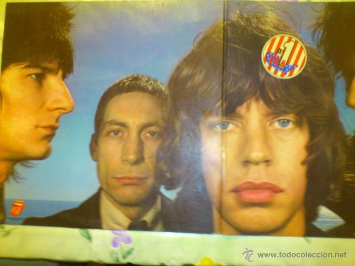 Discos de vinilo: THE ROLLING STONES BLACK AND BLUE 1976 PERFECTO VINILO - Foto 8 - 42890983