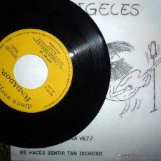 Discos de vinilo: ANGELES. 98'6/ ¿HAS AMADO ALGUNA VEZ?/ ESCAPATE/ ME HACES SENTIR TAN DICHOSO. FUNDADOR, ESP. 1967 EP. Lote 42900828