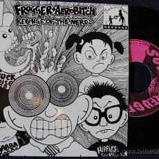 Discos de vinilo: FROGGER + AEROBITCH - REVENGE OF THE NERDS - EP SUBTERFUGE RECORDS - INCLUYE INFO. Lote 42903051