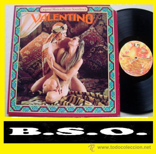 VALENTINO / RUDOLF NUREYEV,STANLEY BLACK, KEN RUSSELL ( RARA B.S.O. COLECTORS !! ) ORG USA EDIT, EXC (Música - Discos - LP Vinilo - Bandas Sonoras y Música de Actores )