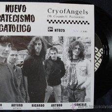 Discos de vinilo: NUEVO CATECISMO CATOLICO - CRY OF ANGELS - NUMERADO, INCLUYE INFO. Lote 42908079