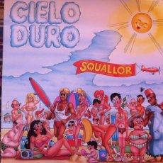 Discos de vinilo: SQUALLOR - CIELO DURO . LP . 1988 RICORDI ITALY - STVL 6385 . Lote 42908942