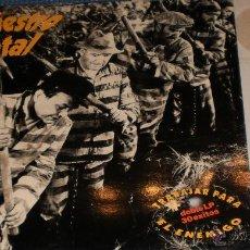 Discos de vinilo: SINIESTRO TOTAL DOBLE LP TEST PRESSING TRABAJAR PARA EL ENEMIGO 30 EXITOS. Lote 42910154