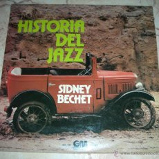 Discos de vinilo: SIDNEY BECHET - HISTORIA DEL JAZZ - LP GRAMUSIC - 1974. Lote 42911378
