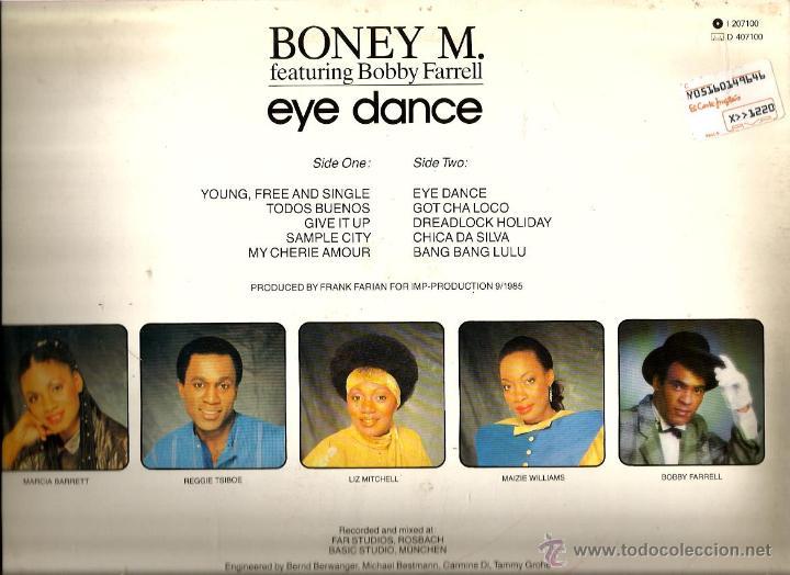 Discos de vinilo: LP BONEY M. : EYE DANCE ( RARISIMO LP DEL GRUPO, COMPLETAMENTE NUEVO ) - Foto 2 - 42923996