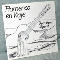 """Discos de vinilo: PACO LIANA WIGARD - FLAMENCO EN VIAJE - LP VINILO 12"""" - GUITARRA - CON INSERTO - EDITADO EN ALEMANIA. Lote 42931833"""
