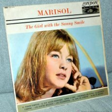 Discos de vinilo: MARISOL - LP VINILO 12'' - THE GIRL WITH THE SUNNY SMILE - EDITADO EN INGLATERRA - LONDON GLOBE 1964. Lote 42932166