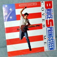 Discos de vinilo: BRUCE SPRINGSTEEN - MAXI-SINGLE 12'' - COVER ME + 2 GRABACIONES INÉDITAS - MADE IN ENGLAND - UK 1984. Lote 42933353