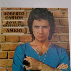 Discos de vinilo: ROBERTO CARLOS - AMIGO. Lote 42937177