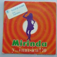 single - disco publicidad de la cole mirinda y música 1970 - waldo de los rios - jean - omething