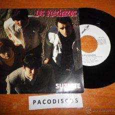 Discos de vinilo: LOS FLECHAZOS SUZETTE / SOY EL PECADOR SINGLE DE VINILO AÑO 1991 CONTIENE 2 TEMAS MOD COOPER RARO. Lote 42942055