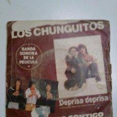 Dischi in vinile: LOS CHUNGUITOS-ME QUEDO CONTIGO. Lote 42942469