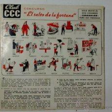 Discos de vinilo: EL SALTO DE LA FORTUNA. Lote 42943517