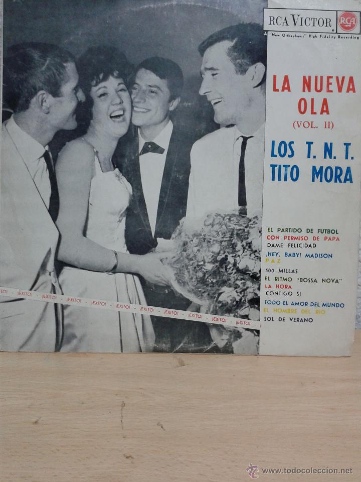 LOS TNT / TITO MORA - LA NUEVA OLA - LP - RCA VICTOR SPAIN 1963 (Música - Discos - LP Vinilo - Grupos Españoles 50 y 60)