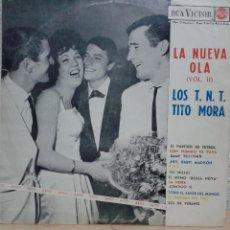 Discos de vinilo: LOS TNT / TITO MORA - LA NUEVA OLA - LP - RCA VICTOR SPAIN 1963. Lote 42944173