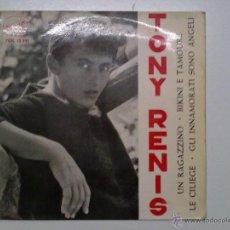 Discos de vinilo: TONY RENIS- UN RAGAZZINO. Lote 42945043