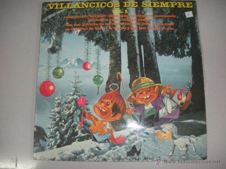 MAGNIFICO LP - VILLANCICOS - DE - SIEMPRE - (Música - Discos - LPs Vinilo - Música Infantil)