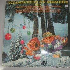 Discos de vinilo: MAGNIFICO LP - VILLANCICOS - DE - SIEMPRE -. Lote 42950575