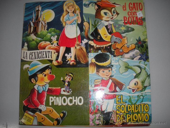 MAGNIFICO LP - CUENTOS INFANTILES - (Música - Discos - LPs Vinilo - Música Infantil)