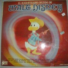 Discos de vinilo: MAGNIFICO LP DE - WALT - DISNEY -. Lote 42950577