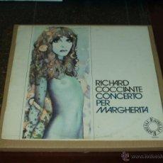 Discos de vinilo: RICHARD COCCIANTE LP MARGHERITA EDICION ESPECIAL. Lote 42953589