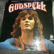 Dischi in vinile: DISCO DE VINILO GODSPELL. ESPECTACULO MUSICAL BASADO EN EL EVANGELIO. 1974 . Lote 42954664