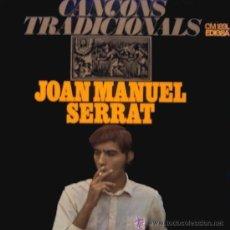 Discos de vinilo: JOAN MANUEL SERRAT, CANÇONS TRADICIONALS LP. Lote 42959116