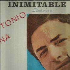 Discos de vinilo: ANTONIO MOLINA LP SELLO PARNASO RECORD EDITADO EN ARGENTINA AÑO 1975. Lote 42962720