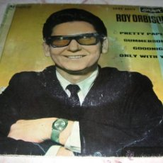 Discos de vinilo: ROY ORBISON - PRETTY PAPER - SUMMERSONG - GOODNIGHT - ONLY WITH YOU - E.P. 1964. Lote 42965874