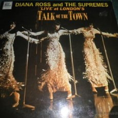 Discos de vinilo: DIANA ROSS & THE SUPREMES - LIVE AT LONDON´S LP - ORIGINAL INGLES MOTOWN 1968 MONO - FUNDA INTERIOR. Lote 42967877