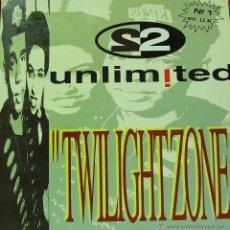 Discos de vinilo: 2 UNLIMITED-TWILIGHT ZONE MAXI SINGLE VINILO 1992 SPAIN. Lote 42971622