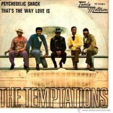 Discos de vinilo: THE TEMPTATIONS PSYCHEDELIC SHACK. Lote 42975299