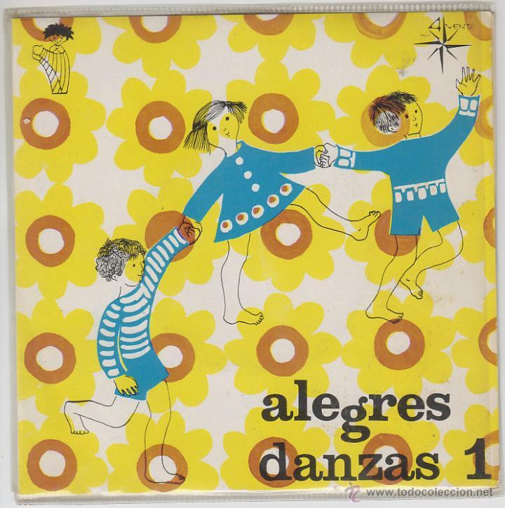 ALEGRES DANZAS, LA CABRITA / DERECHA E IZQUIERDA, SINGLE EDITADO POR EDELTON, 1969 (VER CONTENIDO) (Música - Discos - Singles Vinilo - Música Infantil)
