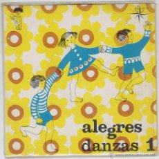 Discos de vinilo: ALEGRES DANZAS, LA CABRITA / DERECHA E IZQUIERDA, SINGLE EDITADO POR EDELTON, 1969 (VER CONTENIDO). Lote 42976543