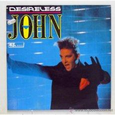 Discos de vinilo: DESIRELESS - 'JOHN' (MAXI SINGLE VINILO) - PEDIDO MÍNIMO 8€. Lote 42982955