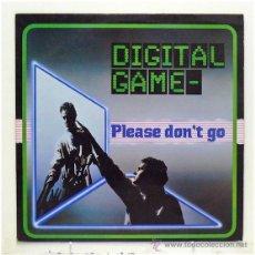 Discos de vinilo: DIGITAL GAME - 'PLEASE DON'T GO' (MAXI SINGLE VINILO) - PEDIDO MÍNIMO 8€. Lote 42983040