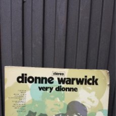 Discos de vinilo: LP. VERY DIONNE. DIONNE WARWICK. Lote 42987051