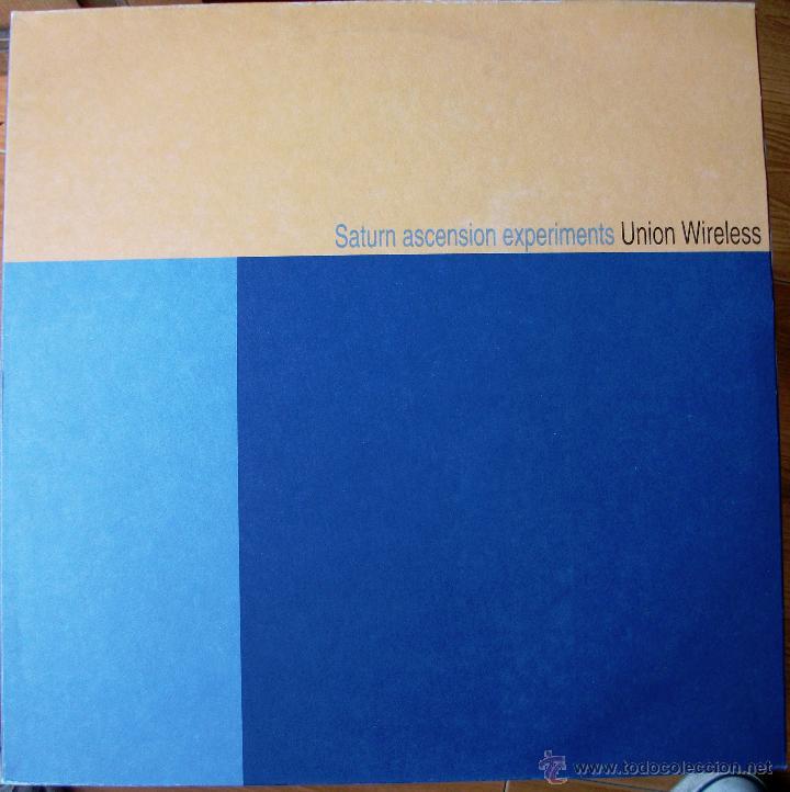 UNION WIRELESS - SATURN ASCENSION EXPERIMENTS - VINILO TRASLUCIDO (Música - Discos - LP Vinilo - Electrónica, Avantgarde y Experimental)