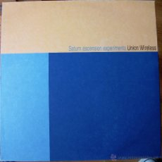 Discos de vinilo: UNION WIRELESS - SATURN ASCENSION EXPERIMENTS - VINILO TRASLUCIDO. Lote 42993268