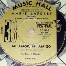 Discos de vinilo: TRES SENCILLOS ARGENTINOS DE MARIE LAFORET. Lote 42998655